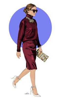 The Olivia Palermo Lookbook : Olivia Palermo BY Natalia Nazimek