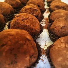 Expresso chocolate truffles