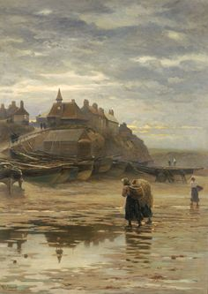 cullercoats painters possible connection into victorian seaside