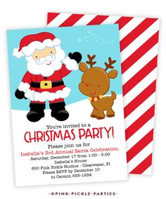 27 Best Christmas Party Invitations Images On Pinterest Christmas