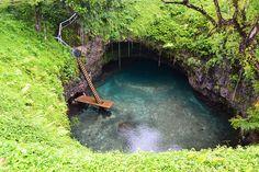 ¿La piscina natural más original del mundo?