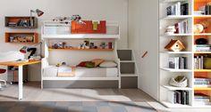 Posuvné dětské pokoje ZALF - Luxusní dětský nábytek ZALF http://JESPEN.cz