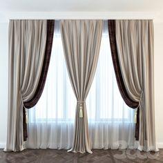 New bathroom door curtain decor 46 Ideas Living Room Decor Curtains, Home Curtains, Modern Curtains, Curtains With Blinds, Window Curtains, Curtain Designs, Curtain Styles, Living Room Modern, Living Room Designs