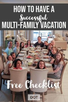 How to plan the ultimate multifamily vacation. Vacationing with a large family? … How to plan the ultimate multifamily vacation. Beach Vacation Tips, Family Vacation Destinations, Best Vacations, Beach Trip, Vacation Trips, Vacation Ideas, Family Vacations, Mexico Vacation, Romantic Vacations