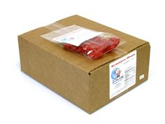 $18.59 http://sanduskycandy.com/candy-colors/red-candy/Licorice-Wheels-strawberry-4-oz-bag-box-of-12.html