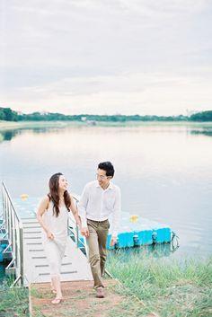 Photography: Mildly The Film - www.mildlythefilm.com  Read More: http://www.stylemepretty.com/destination-weddings/2015/01/09/bangkok-engagement-session/