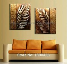 Discover thousands of images about Golden Leaves Canvas Art Set Multi Canvas Painting, Canvas Art, 3d Wall Art, Wall Art Prints, Indian Art Paintings, Art N Craft, Pottery Painting, Texture Painting, Home Art