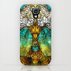 """Tree of Life"" by Mandie Manzano Samsung  Galaxy S4 Case $35"
