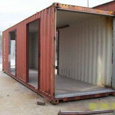 SIX OAKS SHIPPING CONTAINER RESIDENCE
