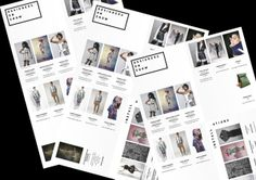 Berlin Fashion Film Festival 2012 by Allan McEvoy, via Behance