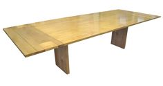 We call this the Cubist Dining Table.  Its a great contemporary throwback piece.