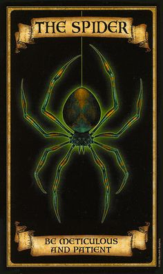 The Spider - Madame Endora Fortunetelling Cards