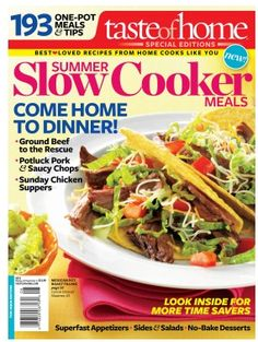 http://fabulesslyfrugal.com/?p=214498  Great deals on Taste of Home Cookbooks or Recipe Cards!