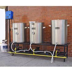 Brewhouse / Sala de cocción para lotes de 100 L