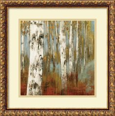 'Alongthe Path II' by Allison Pearce Framed Painting Print