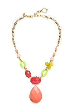 Multicolor Multi-Stone Necklace