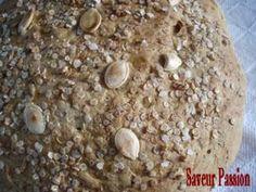 pain au potimarron et flocons de quinoa