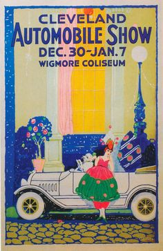 Michael DeSantis, Cleveland Automobile Show, 1918.