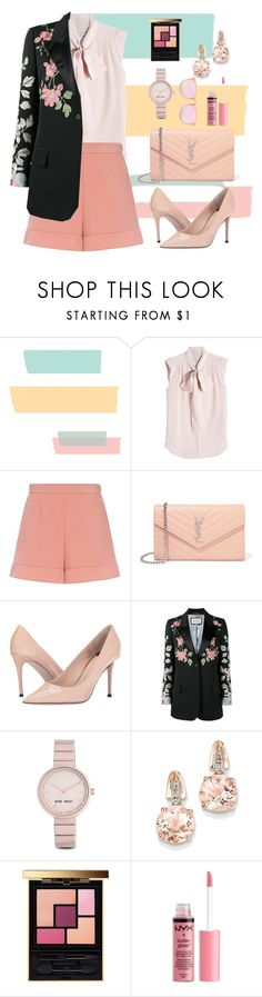 """Untitled #360"" by orrinn ❤ liked on Polyvore featuring MaxMara, RED Valentino, Yves Saint Laurent, Paul Smith, Gucci, Nine West, BillyTheTree and Charlotte Russe"