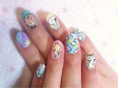 Snoopy Nails ♡