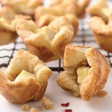 Baked Brie Cups - These bite-sized, cheese-filled pastries are the perfect appetizer.