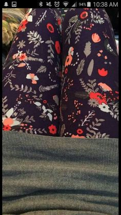 TC floral leggings