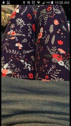 TC floral leggings