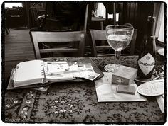 "My mess... ;^) - Café ""Het Bolwerk"", Enschede.   Flickr - Photo Sharing!"