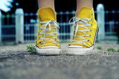 Yellow chucks