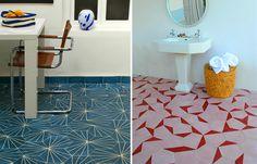 Floor tiles by Stockholm design group Claesson Soivisto Rune.