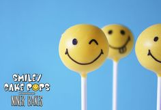 Happy Faces guaranteed! How to make Smiley Cake Pops | niner bakes