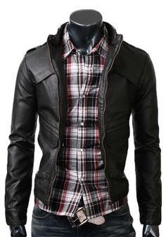 Handmade Black Leather Jacket.