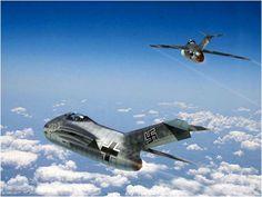 Luftwaffe, Ww2 Aircraft, Military Aircraft, Messerschmitt Me 262, Focke Wulf, Experimental Aircraft, Military Pictures, Ww2 Planes, Aircraft Design