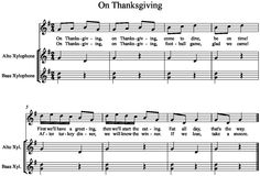 Music a la Abbott - Amy Abbott - Kodály Inspired Blog and Teachers Music Education Resource: On Thanksgiving