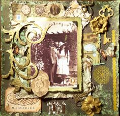 MEMORIES ~ **SCRAPS OF DARKNESS** ~ VICTORIANA - Scrapbook.com