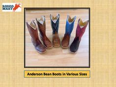 Get Anderson Bean Boots in many size and color.We have wide collection of Anderson bean boots in many design. So buy your favorite one and give your lifestyle new fashion statement. Buy Now -----> https://www.rodeomart.com/Anderson-Bean-boots-p/ab-boots-stock.htm  #rodeospecials #westernspecials, rodeogeardiscounts #westernclothing #cheapcowboyboots #andersonbeanboots