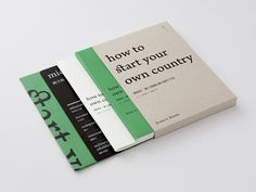 How to Start Your Own Country on Behance