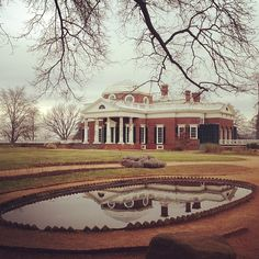Monticello in Virginia (Thomas Jefferson summer home my grandma took me twice to see!!!)