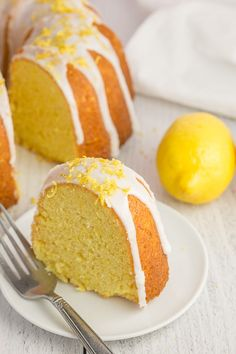The best vegan lemon cake you'll ever eat! It is simple to make and moist, tangy, and oh-so-lemon-y. The best vegan lemon cake you'll ever eat! It is simple to make and moist, tangy, and oh-so-lemon-y. Vegan Lemon Cake, Cake Vegan, Lemon Bundt Cake, Eggless Lemon Cake, Simple Vegan Cake Recipe, Vegan Bundt Cake Recipe, Vegan Cupcakes, Vegetarian Cake, Vanilla Cake