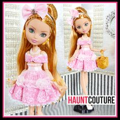"""Fairytale Princess Haunt Couture: """"Once Upon a Dream"""" fierce ever after high fashion outfit"""