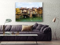 Impressionist Extra Large Wall Art Travel Photography by LensLove