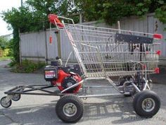 Hot Rod Shopping Cart