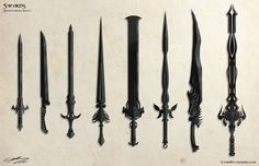 Speedpaint Swords by ProlificPen.deviantart.com on @deviantART