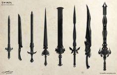 Speedpaint Swords by *ProlificPen on deviantART