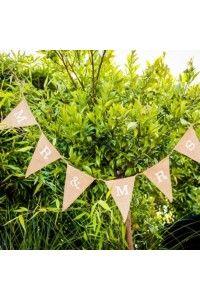 banderoles-guirlandes-fanions-deco-decoration-mariage-ceremonie-anniversaire-bapteme - Accessoires du Mariage