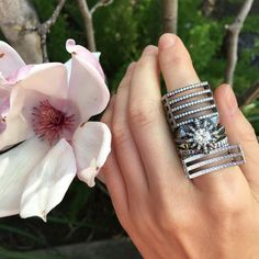 #Spring #Style #Love #Light #Jewelry @mkayejewelry Spring Style, Statement Rings, Silver Rings, Jewelry, Jewlery, Bijoux, Schmuck, Jewerly, Jewels