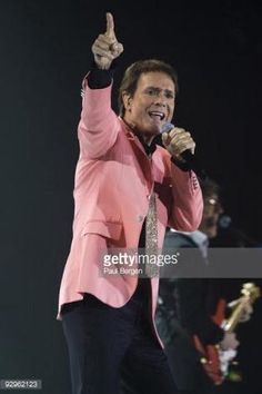 Sir Cliff Richard performs on stage with The Shadows at Ahoy on November 10, 2009 in Rotterdam, Netherlands.