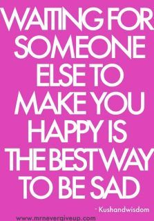 make yourself happy!!