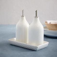 Textured Oil + Vinegar Set