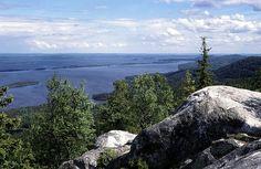 Finland, das land der tausend seen.